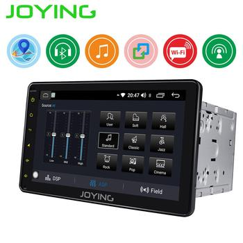 цена на JOYING 2 din car radio Android 8.1 universal 8 inch IPS screen stereo GPS system head unit support mirror link& Fast boot WIFI