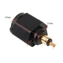 USB Port Charger Adapter Digital Display Plug