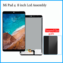 "New 8"" inch For Xiaomi Mi Pad 4 MiPad4 Mipad 4 MIUI LCD Display + Touch Screen Digitizer Full Assembly Tablet M1806D9E M1806D9W"