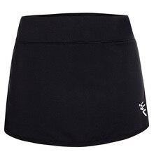 Женская легкая Спортивная юбка-шорты с карманами для бега, тенниса, гольфа, тренировок