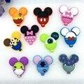 10pcs/lot CuteMickey personality balloonrubber cartoon flatback DIY hair bow accessories shower decoration Center Crafts