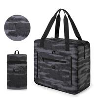 Gonex 33L Foldable Duffle Bag Water Repellent Printed Boston Bags For Travel Sports Gym Camping Overnight Bag Hospital Bag