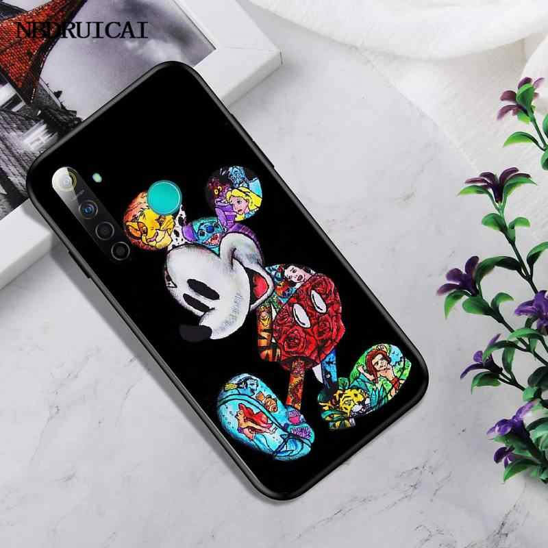 PENGHUWAN Tattoo Cartoon Pikachu Stich TPU Weichen Silikon Telefon Fall Abdeckung Für OPPO Realme 5 3 2 Pro F7 F9 f11 F3 RENO Abdeckung