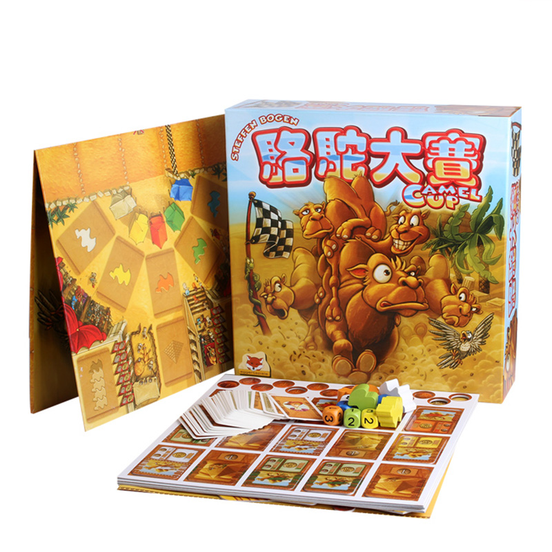 New Camel Up Board Game 2-8 Players Family/Party Best Gift For Children Strategy Investment Game