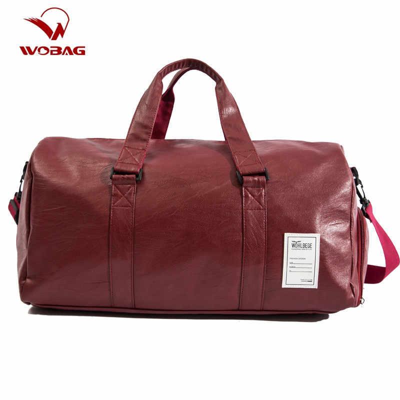 Pu Leather Weekender Bag