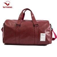 Wobag Lolita Style Travel Bag PU Leather Couple Travel Bags Hand Luggage For Men Women Fashion Duffle Bag Gym bag