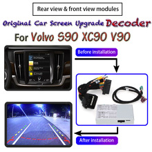 Decoder Interface Rear-View-Camera Volvo S90 Parking-Cam-Module XC90 Front for Car-Screen-Display