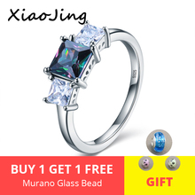 Real 100% 925 Sterling Silver Fairytale Sparkling Ring, Clear CZ Finger Ring for Women Wedding Engagement Jewelry Gift 2019 vercret vintage bohemia turquoise ring for women real 925 sterling silver finger ring gift jewelry