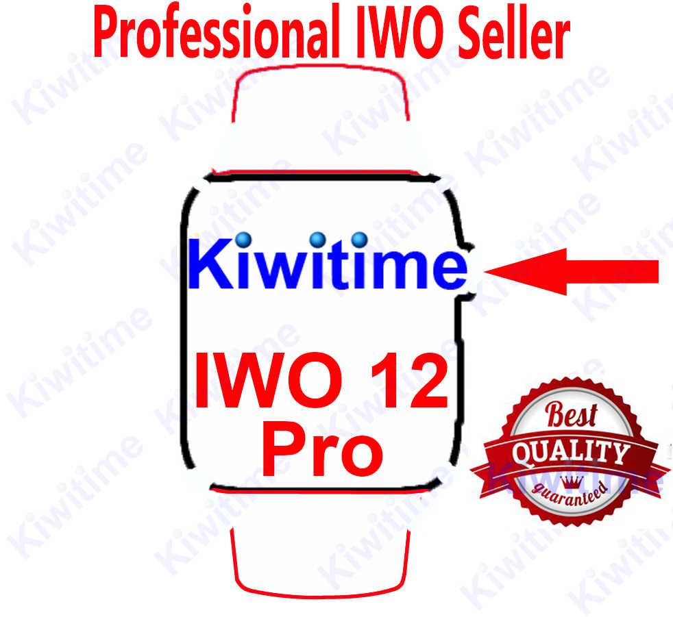 KIWITIME IWO 12 PRO Bluetooth Smart Uhr 1:1 SmartWatch Fall für telefon Herz Rate PK IWO MAX 13 P8