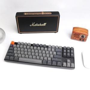 Image 4 - Keychron K8 אלחוטי Bluetooth מקלדת מכאנית 87 מפתחות Gateron מתג לבן תאורה אחורית מקלדת עבור Mac Windows