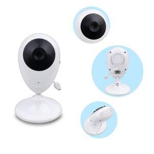 Image 2 - Cor de Vídeo sem fio Baby Monitor com 2.4 Polegadas LCD 2 Áudio Bidirecional Discussão Night Vision Segurança Vigilância Câmera Babá