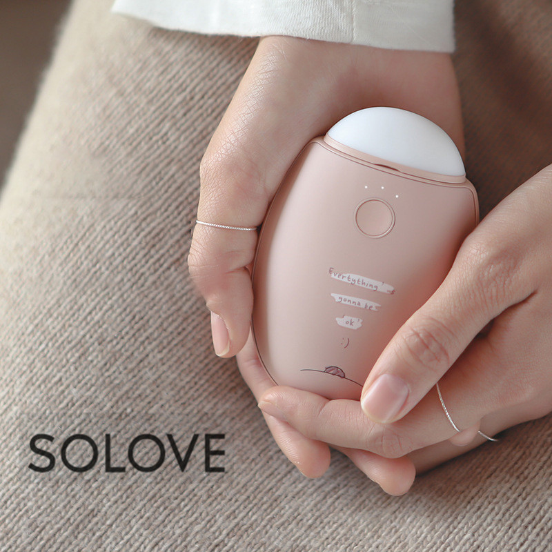 Youpin SOLOVE N2-S 3 In 1 Winter Heater USB Rechargeable Hand Warmer 2960mAh Power Bank For Camping Flashlight