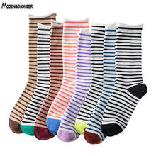 1 Pair Thin Section Ins Harajuku Glass Socks Japanese Korean Version Of The Ya Network Red With Small Flower Net Yarn