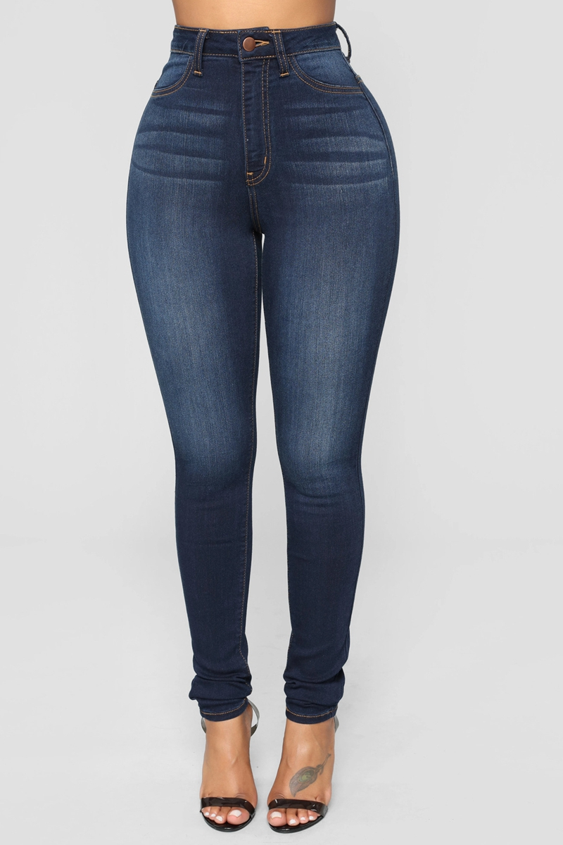2020 Slim Jeans For Women Skinny High Waist Trousers Jeans Women Black Denim Pencil Pants Stretch Women Jeans Pants Calca Jeans
