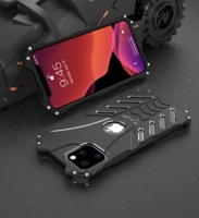 Heavy Duty Metal Phone Case For iPhone 11 Pro Max 6S 7 8 Plus X XR XS Max Cover Shockproof Hard Armor Alumium Steel Phone Shell