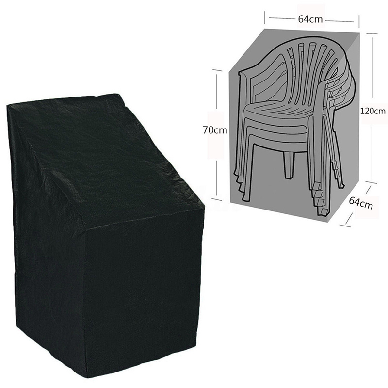 Heavy Duty Waterproof Chairs Cover Chair Dust Cover Garden Green Space Terrace Chair Furniture Dust Cover