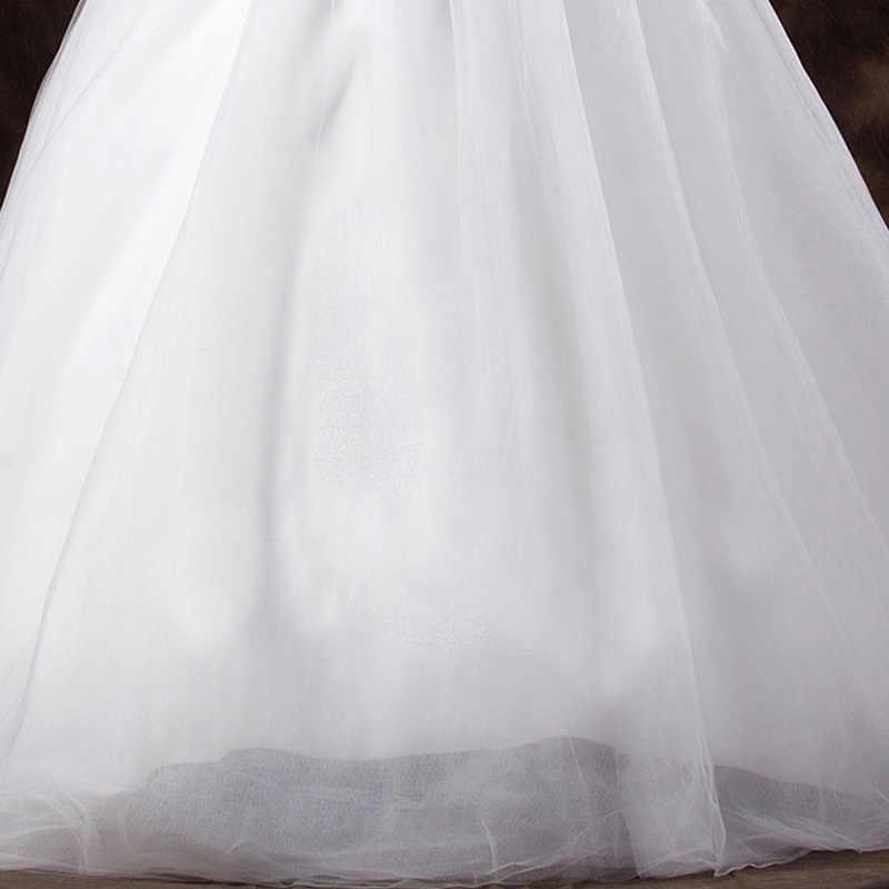 LAMYA 2019 дешевые знаменитостей без бретелек Свадебное бальное платье Тюль суд Поезд свадебное платье Кружева Свадебные платья Vestidos De Novia