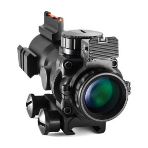 Image 2 - 4x32 Acog Riflescope 20mm Dovetail Reflex Optics Scope Tactical Sight For Hunting Gun Rifle Airsoft Sniper Magnifier