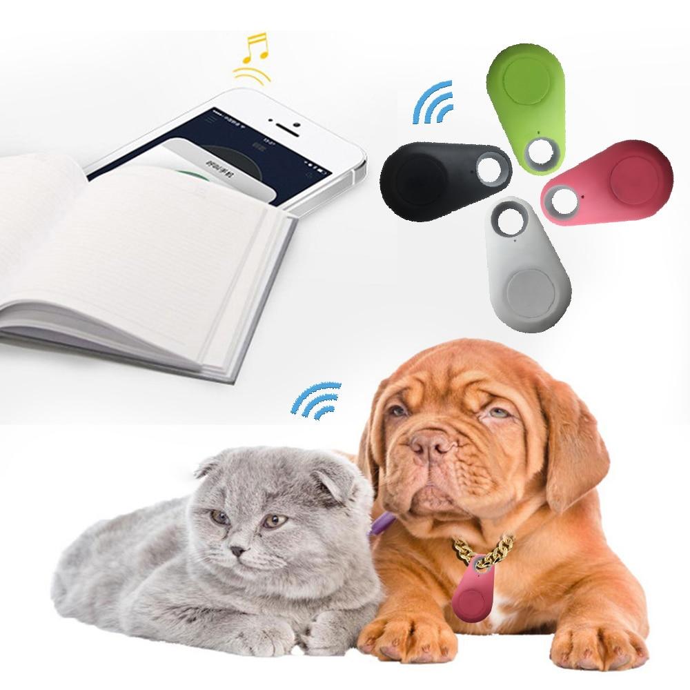 1 pcs Pets Smart Anti-Lost Waterproof Bluetooth Tracer Mini GPS Tracker Cat Dog Key Bag Kids Wallet Phone Finder Equipment