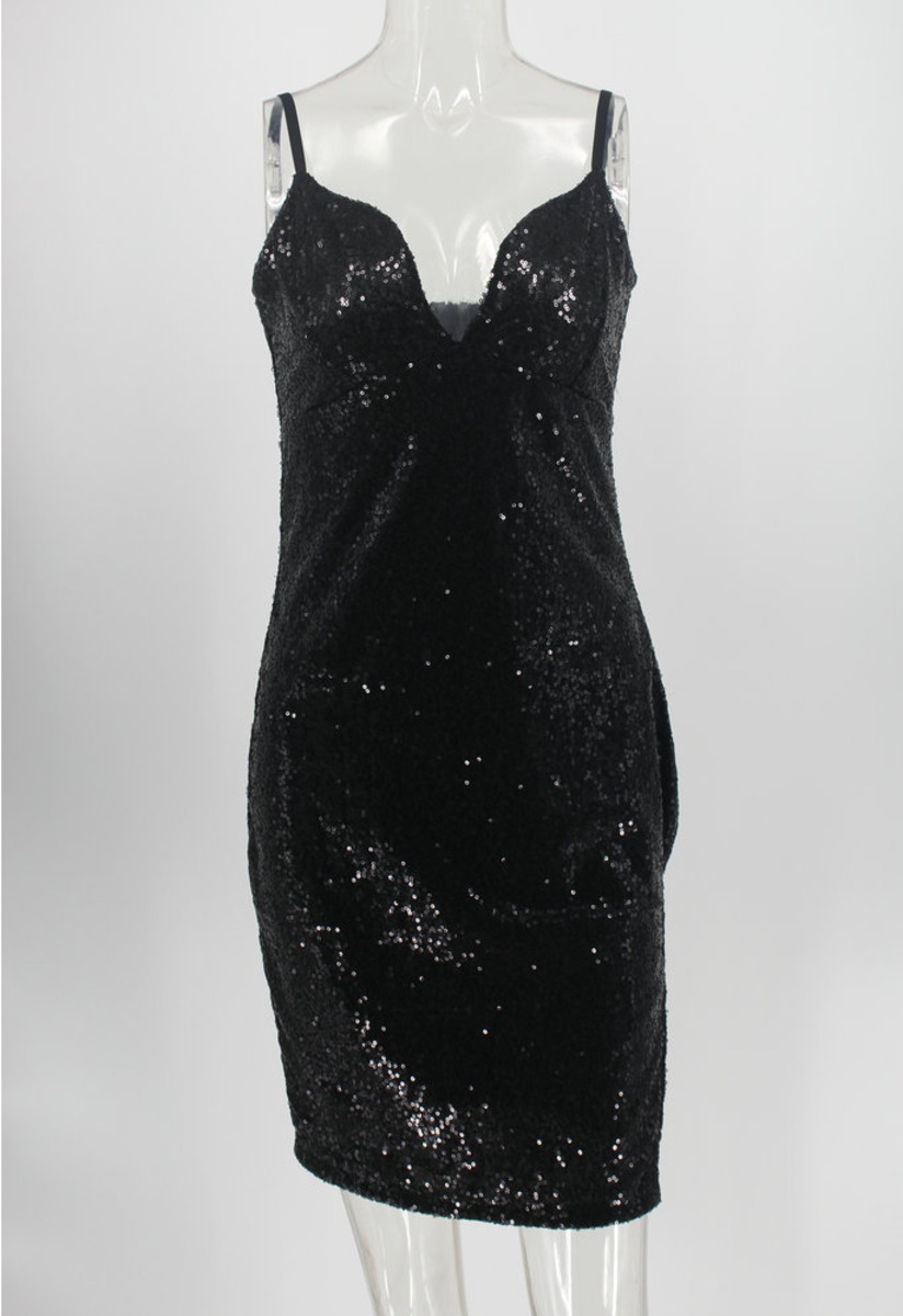 Chic Glitter Party Short Cocktail Dress Sexy Sling Backless Sequin Charming Clubwear Party Dress Real Pictures Vestido De Cóctel