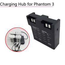 Intelligent Battery Manager for DJI Phantom 3 3A 3P 3S SE Charger Board Adapter Parallel Charging Hub Drone Parts Accessories(China)