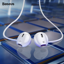 Baseus Wired Earphone In Ear Headset With Mic Stereo Bass Sound 3.5mm Jack Earphone Earbuds Earpiece For iPhone Samsung Xiaomi()