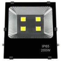 1pc 100 w 150 200 led refletor lâmpada projector AC85-265V 12 v 36 v conduziu a luz de inundação ao ar livre parede estrada quintal lâmpada