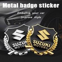 Adesivo do carro vip emblema emblema decalque para suzuki grand vitara 2008 gsxr 600 750 srad gsr swift jimny alto estilo do carro acessórios