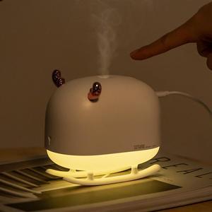 Image 5 - جديد SOTHING DSHJ H 009 260 مللي الغزلان المرطب ضوء USB المنزل الهواء المرطب منقي هواء محمول صغير جو ضوء الليل