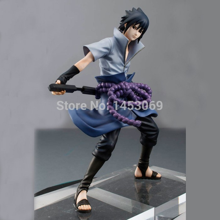 Image 5 - Uchiha Sasuke Naruto Shippuuden PVC Collectible Action Figure MegaHouse GEM Model Toy Anime Statue 20cmAction & Toy Figures   -