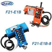 工業用リモートスイッチホイスト産業方向ワイヤレスクレーンラジオリモートコントロールシステムスイッチ 1 受信機 + 1 トランスミッタF21 E1B