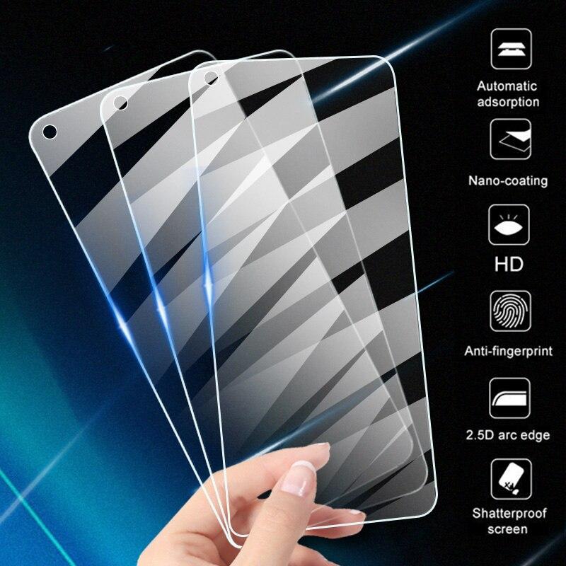3 pièces verre de protection trempé pour Huawei P20 Pro P30 P40 Lite P10 protecteur d'écran pour Huawei P smart 2019 2020 Z Film de verre