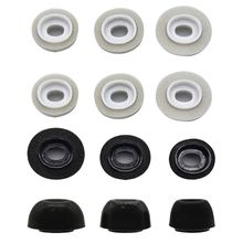 3Pair Noise Reduction Memory Foam Ear Tips Replacement Earbuds Cover Protective Earphone Earplugs for Airpods Pro