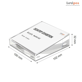 1pc 5 6 7 8 inch clear acrylic photo frame magnetic picture photo poster display frame for table sign price tag label promotion 90*55mm Acrylic Picture Photo Sign Holder Magnetic Clear Phone Price Display Frame