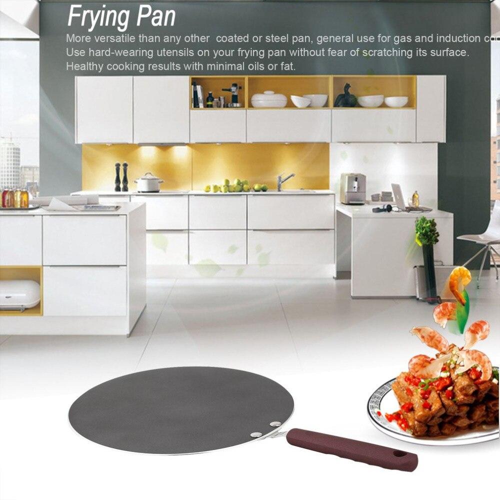 Poêle antiadhésive Pizza Steak crêpes crêpes casserole de cuisson poêle Kit de poêles batterie de cuisine outils ensemble pour cuisinière à Induction à gaz
