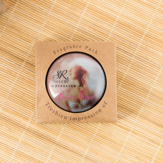 Women Perfume Plant Solid Girl Perfumes Fruity Magic Balm Iron Box Easy To Carry Body Fragrance Alcohol-free Deodorant Scented 2