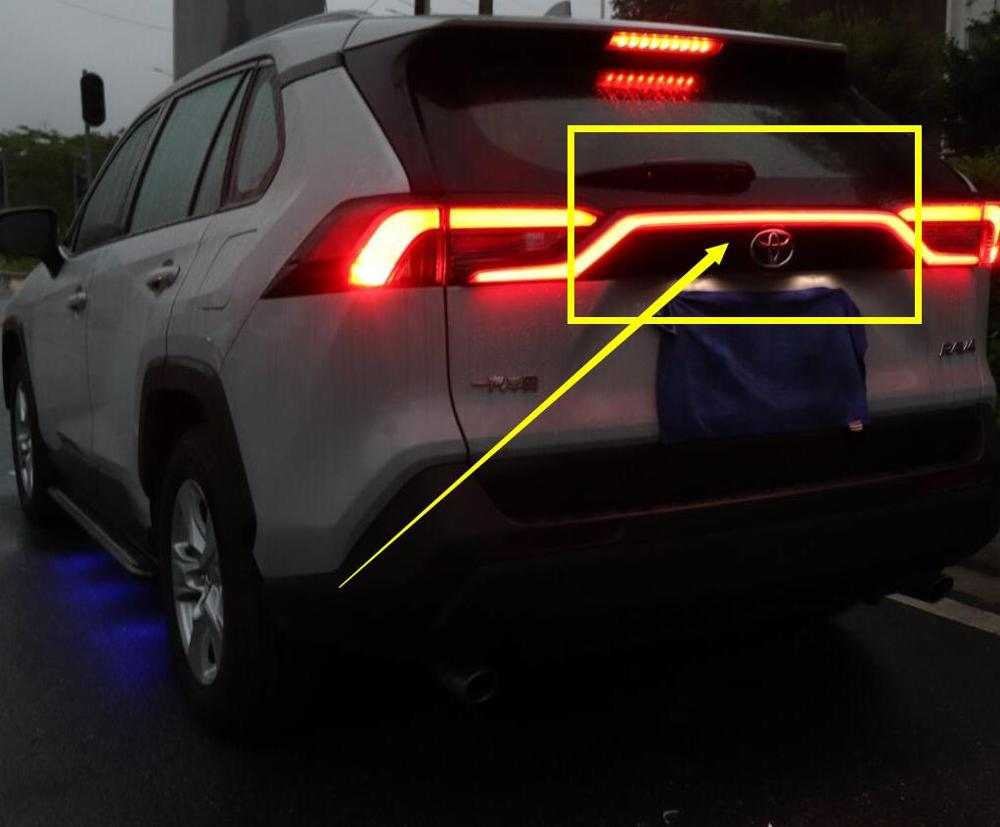 1pcs 2019~2020year Tail Light For RAV4 Taillight Rav 4 Brake LED Car Accessories Taillamp For RAV4 Rear Light Fog