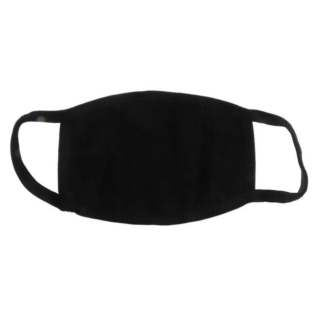 PM2.5 Fashion Black Luminous Mouth Mask Anti Dust Mask Windproof Mouth-muffle Bacteria Proof Flu Face Masks Care Reusable 5