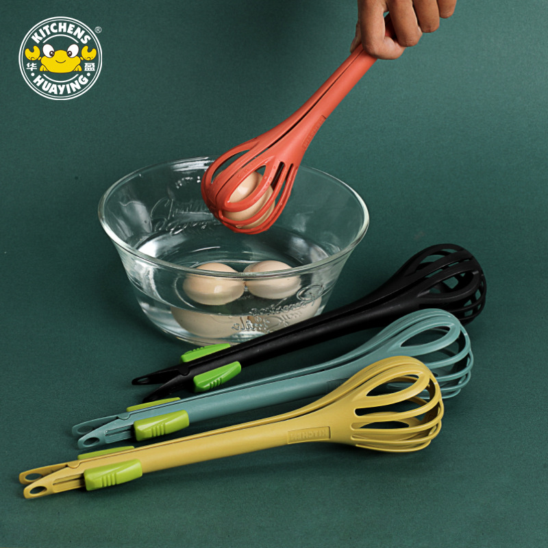 Cooking Gadgets Whisk Kitchen Gadgets and Accessories Egg Beater Gadgets Hand Food Clip Manual Salad Stirring Stick Cream Tool 1