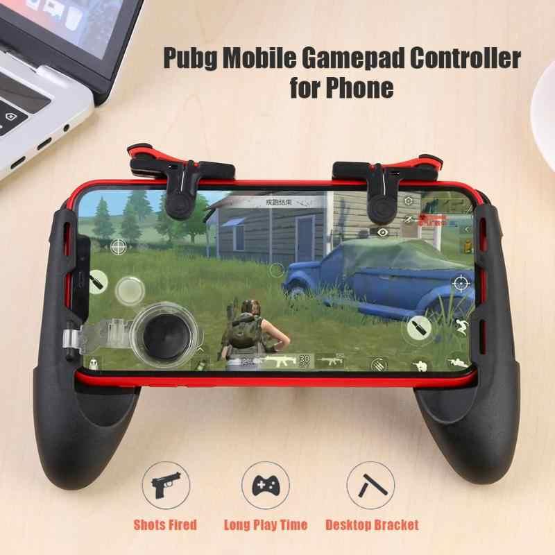 Mando de juegos móvil 3 en 1 para el controlador Pubg, disparo libre, L1R1, botones de disparo, botón de disparo para Pubg, accesorios de juego de agarre de mano
