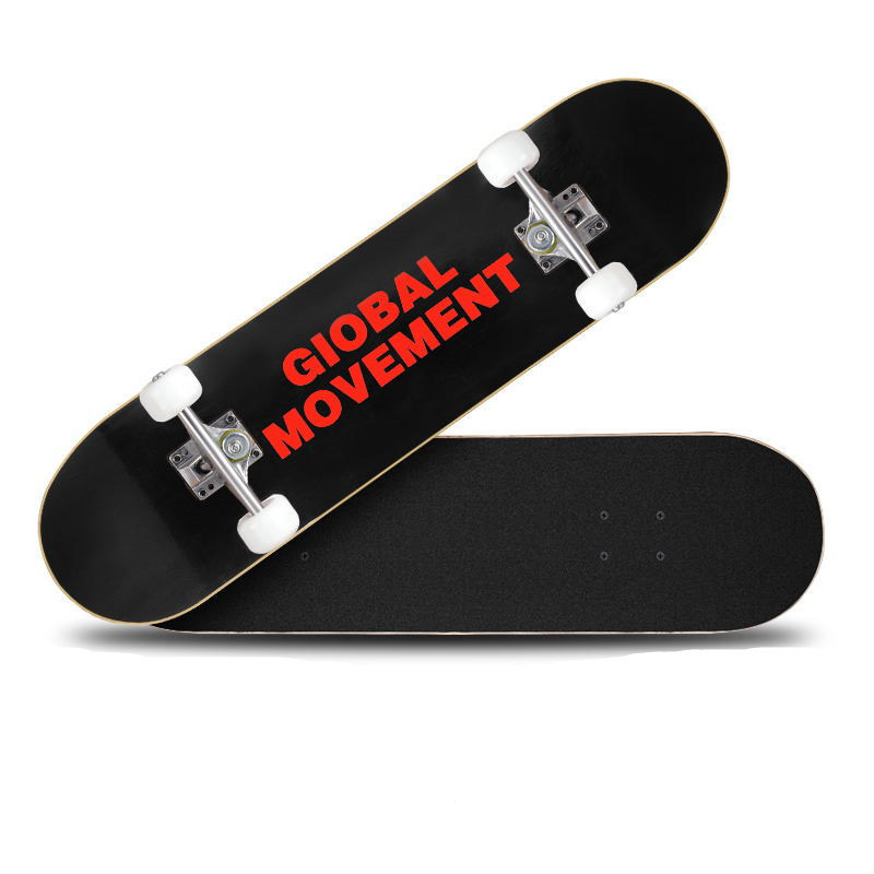 80 * 20cm Beginner Skateboarding Teenager Adult Road Skateboard Dance Board Brush Street Long Board Matte Non-slip