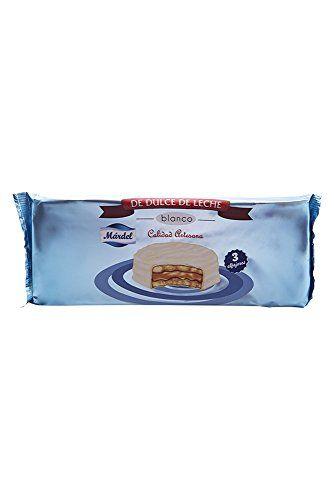 Alfajores Chocolat Blanc Mardel X 3