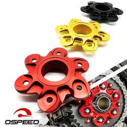 For Ducadi 1098 1198 1299 1199 Panigale S R Monster 1200 R Multistrada 1200 Rear Sprocket Drive Flange Cover Decoration Aluminum
