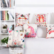 Чехол для подушки чехол диванной декоративный льняной декоративная