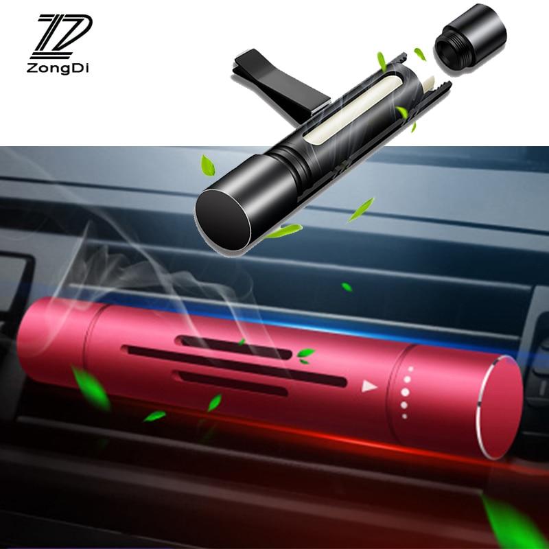 Car Air Freshener Air Vent Perfume Auto Interior Accessories for Toyota corolla yaris chr Volvo XC90 s60 V40 XC60 V50 Chevrolet
