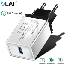 OLAF Quick Charge 3.0 USB Charger EU 2.4A Fast Charging Mobile