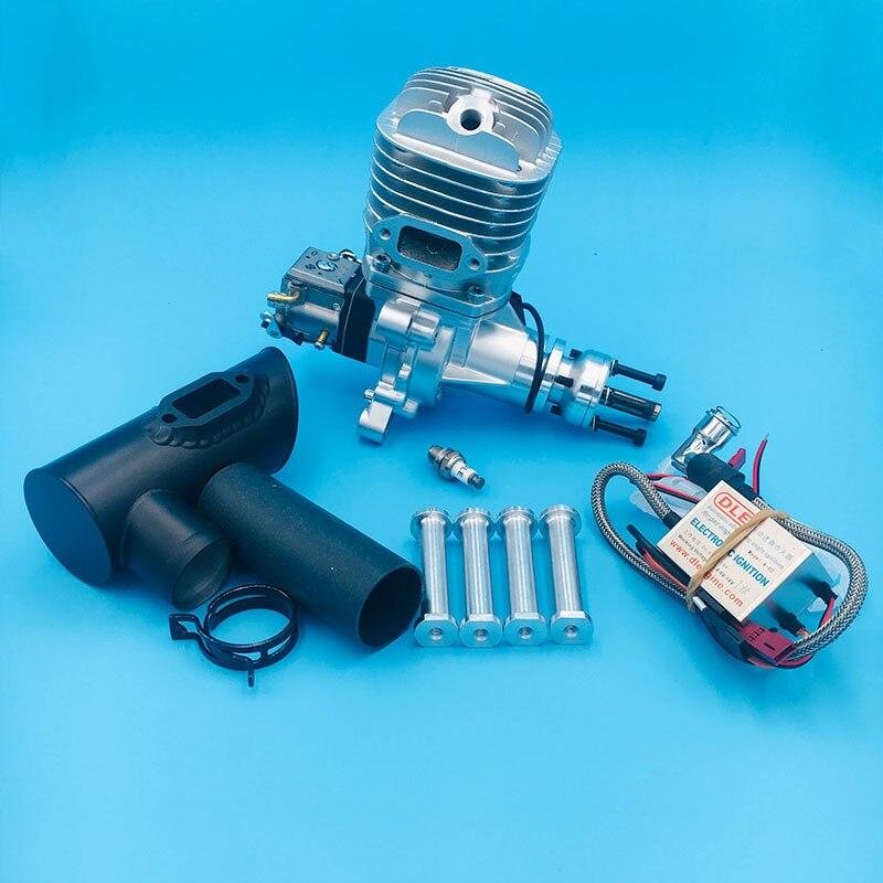 DLE65 65CC модель самолета бензиновый двигатель одноцилиндровый двухтактный боковой выхлопной натуральный с воздушным охлаждением 65cc DLE двигатель|Детали и аксессуары|   | АлиЭкспресс