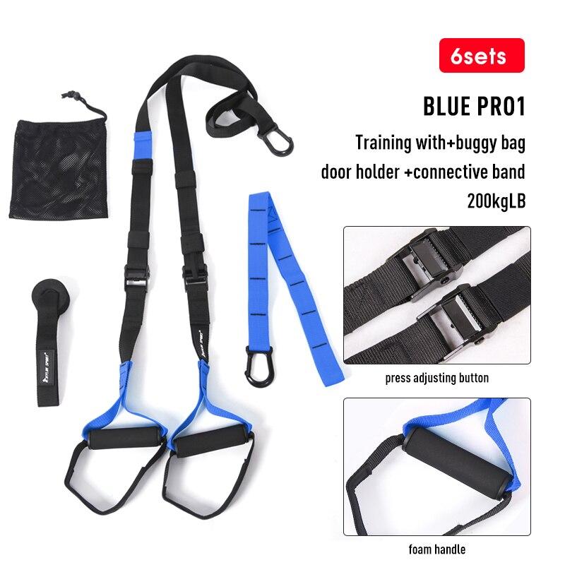 Поддерживающие повязки для фитнеса, подвешивающие лямки для тренировок в тренажерном зале, Кроссфит, подвеска, Тяговая веревка для упражнений-2
