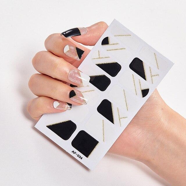 полное покрытие наклейки для ногтей художественное оформление фотография