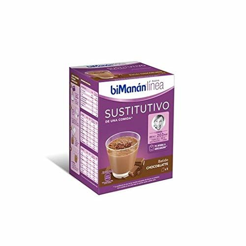 BiManán Linea - Meal Substitute Shake + Shaker Free - 5 X 30g - Cioccolato